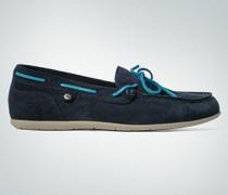 Damen Schuhe Mokassin aus Veloursleder