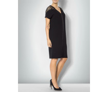 Damen Kleid mit Schulterpasse aus Spitze