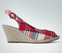 Damen Schuhe Peeptoe im Espadrillo-Stil