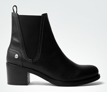 Damen Schuhe Chelsea Boots mit Steppungen