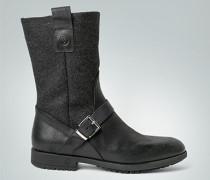 Damen Schuhe Stiefel im Materialmix
