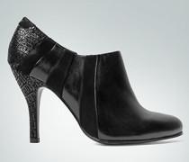 Damen Schuhe Ankle Boots mit Krokoprägung