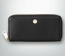 Damen Geldbeutel mit markantem Reißverschluss