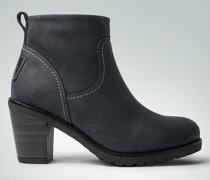 Damen Schuhe Stiefelette warm gefüttert
