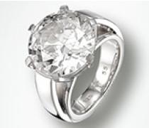 Schmuck Ring, Zirkonia, 925er Sterlingsilber