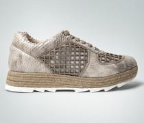 Schuhe Plateau-Sneaker mit Mesh-Details
