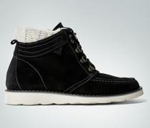 Damen Schuhe Schnürstiefelette