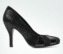 Damen Schuhe Pumps mit Krokoprägung