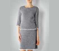 Damen Tweed-Shirt aus Baumwoll-Mix