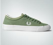 Damen Schuhe Retro-Sneaker in Veloursleder-Optik