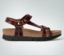 Damen Schuhe Plateau-Sandalen mit Triangel