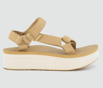 Schuhe Sandalen mit Plateau