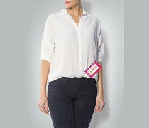 Damen Bluse aus fließendem Seiden-Crêpe