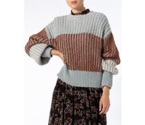 Pullover mit Alpaka Wolle