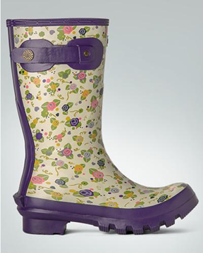 Barbour Damen Schuhe Gummistiefel mit Blumen-Print