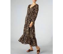 Kleid im Seide-Viskose-Mix