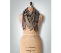 Damen Schal mit offener Fransenkante