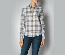 Damen Flanellhemd mit Karo-Muster