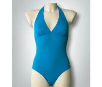 Damen Badeanzug mit Piqué-Struktur