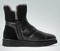Damen Schuhe Stiefelette mit Lammfellfutter