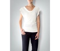 Damen Bluse mit Wasserfall-Ausschnitt