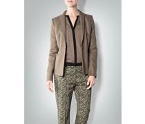 Damen Blazer aus Viskose-Baumwolle