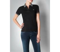 Damen Polo-Shirt in antailliertem Schnitt