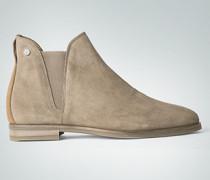 Damen Schuhe Chelsea Boot aus Veloursleder