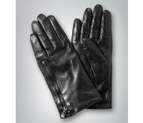 Damen Handschuhe mit Zip-Detail