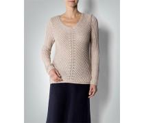 Damen Pullover in aktueller Rippenoptik