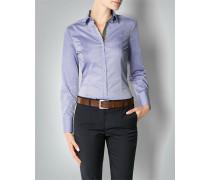 Damen Bluse mit Kontrastdetail