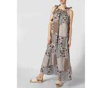 Kleid im Patchwork-Stil