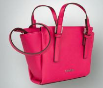Damen Mini-Tote-Bag mit Saffiano-Prägung