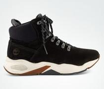 Schuhe Boots im Trekking-Look