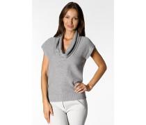 Damen Pullover Wollmischung hell