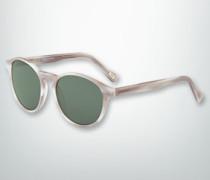 Damen Brille Sonnenbrille in marmoriertem Dessin