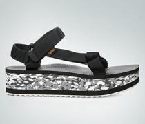 Damen Schuhe Sandalen mit Plateau-Sohle