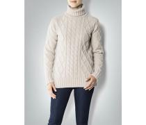 Damen Pullover mit Zopfmuster aus Lambswool