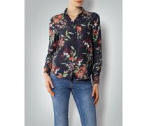 Damen Bluse mit floralem Dessin