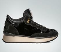 Schuhe Sneaker in Samtoptik