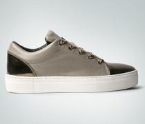 Damen Schuhe Sneaker mit Satinschnürsenkel