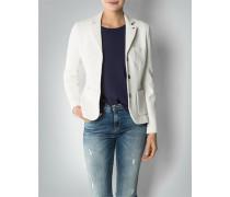 Damen Blazer aus Struktur-Qualität