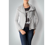 Damen Cardigan in melierter Optik