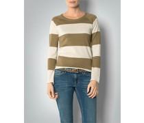 Damen Pullover mit Block-Streifen