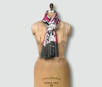 Damen Schal im floralen Dessin