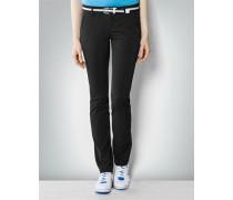 Damen Hose im Regular Slim Fit aus Funktionsmaterial