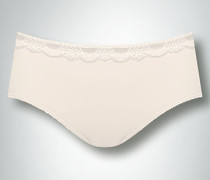 Wäsche Midi Slip mit Spitzen-Po