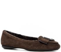 Damen Schuhe Ballerina mit Schleifen-Detail