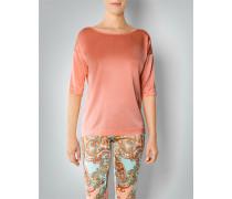Shirt-Bluse aus Seide