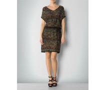 Damen Kleid in Melange-Strick